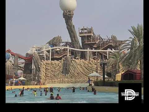 Weekend getaway   A Day in Yas Waterworld  Buhay UAE  Vlog #17