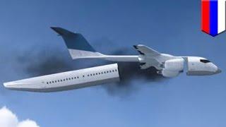 Самолёт будущего: отделяемая кабина с парашютами