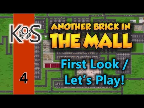Another Brick In the Mall Ep 4: Getting Queues Working - First Look - Let's Play, Gameplay