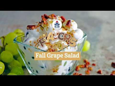 Fall Grape Salad Recipe
