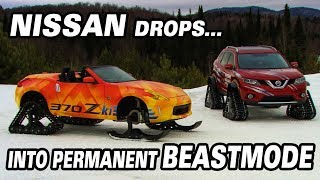Nissan Drops into Permanent BeastMode