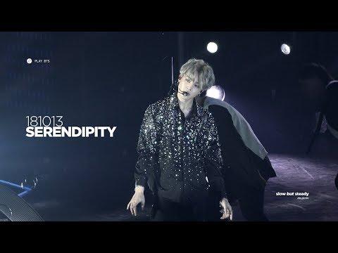 181013 방탄소년단 지민 (BTS JIMIN) - Serendipity (4K fancam)