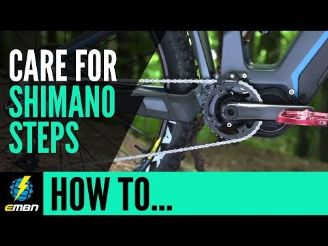 How To Care For Your Shimano Steps E Bike Motor | E MTB Maintenance