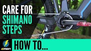 How To Care For Your Shimano Steps E Bike Motor   E MTB Maintenance