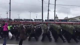 После парада Победы 2017 на Красной Площади