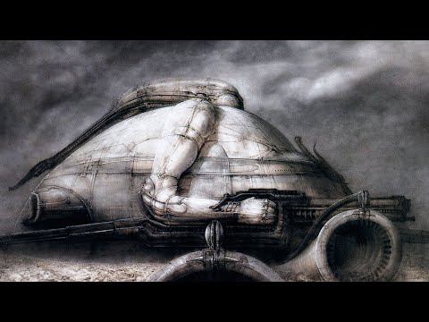 Cosmic Machines - Homage to H.R. Giger
