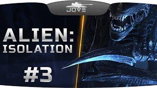 ДЖОВ ОТКЛАДЫВАЕТ КИРПИЧИ в Alien: Isolation #3. Кровь, кишки и трупы в госпитале!