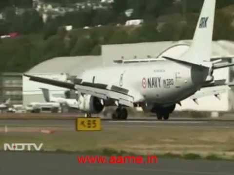 Indian Navy's Boeing P-8i Poseidon Multi-Mission Maritime Aircraft [NDTV Footage]