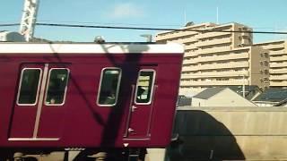 【車窓】〜阪急電車と並走〜上牧駅から水無瀬駅