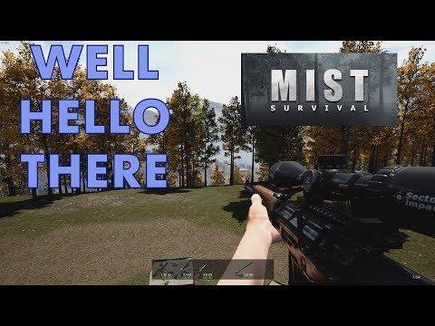 Mist survival - Sniper rifle!?