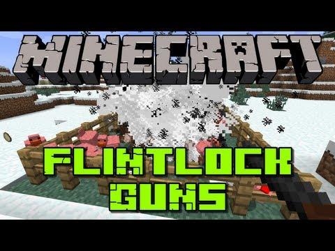 Minecraft: Flintlock Guns Mod