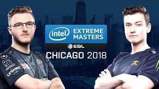 CS:GO - BIG vs. Fnatic [Cache] - Group B Ro1 - IEM Chicago 2018