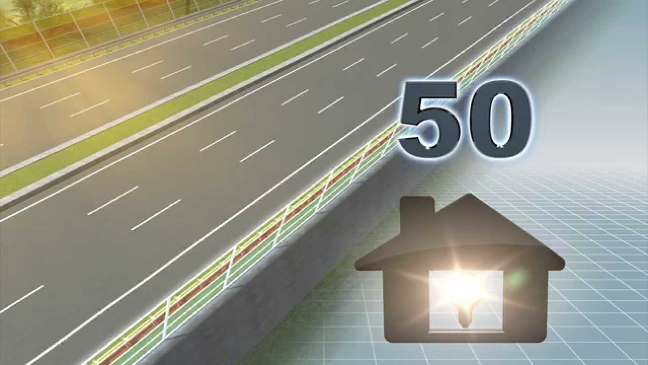 Solar power highway: Dutch university plans to use solar panels as highway  noise barriers