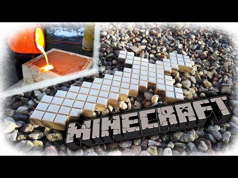 Minecraft Sword Made From Aluminum Bronze Scrap
