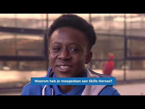 Skills Hero Albeda 2021 Jeandrick de Paulo,  entreeopleiding Bouwen & wonen