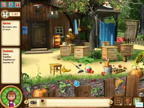 Маша и Медведь играют в доктора игры на Андроид для детей! Игра как мультик и приколы 2017