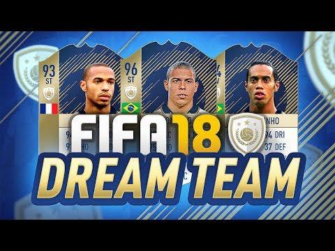 FIFA 18 DREAM TEAM! - FUT 18 Icon Squad Builder