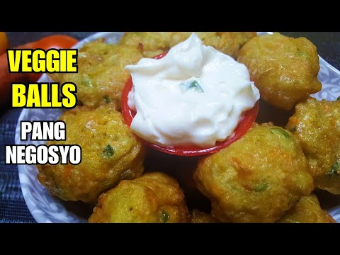 VEGGIE BALLS 💓 | How to make Veggie Balls Street Food Pang'BUSINESS