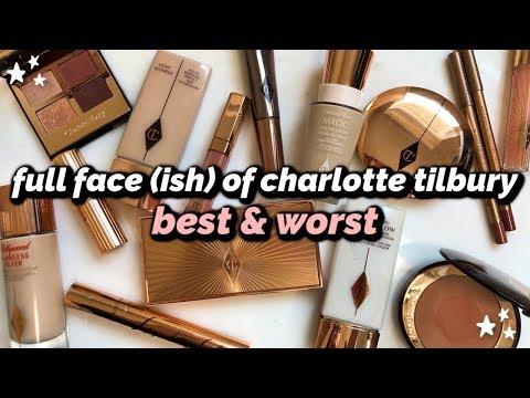 BEST & WORST   Charlotte Tilbury Full Face Try-On