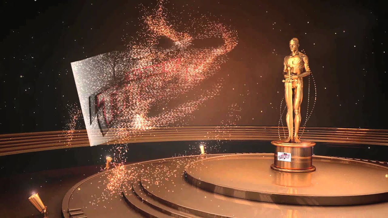 award winner - oscar template - youtube, Modern powerpoint