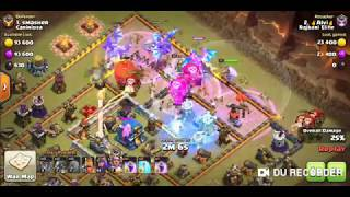 COC TH12 War Attack for 2 star and 80+ damage