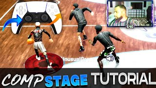 ADVANCED COMP STAGE DRIBBLE TUTORIAL😈 | HOW TO DRIBBLE AGAINST FULL COURT PRESS 🎥