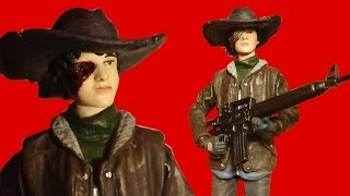 The Walking Dead Carl Grimes Comic Series 4 Action Figure Review