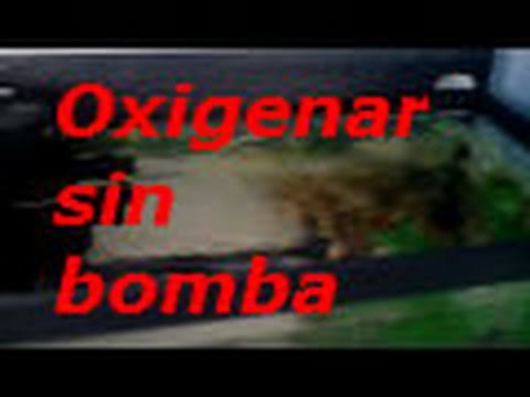 oxigenar sin bomba de aire youtube