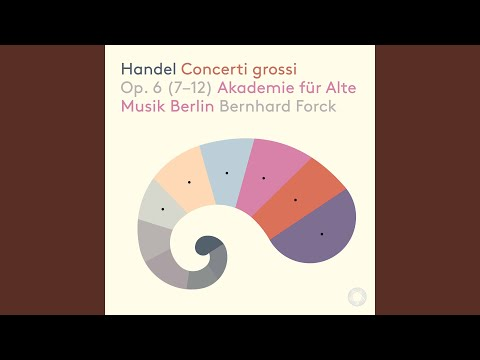 Concerto Grosso In D Minor, Op. 6 No. 10, HWV 328: I. Ouverture