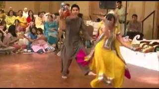 Pakistanische Hochzeit - Tanz Bräutigam u. Braut