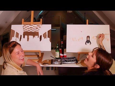 DrUnK ArT SchOoL #4: Das Abendmahl als Selbstportrait | by MalWanne & Kelly