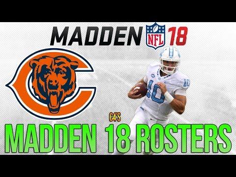 CHICAGO BEARS Madden 18 Ratings | c4