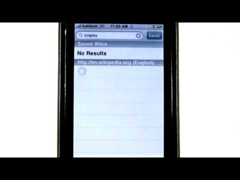 iPhone apps - Handy Wiki - Simple Wikipedia Viewer