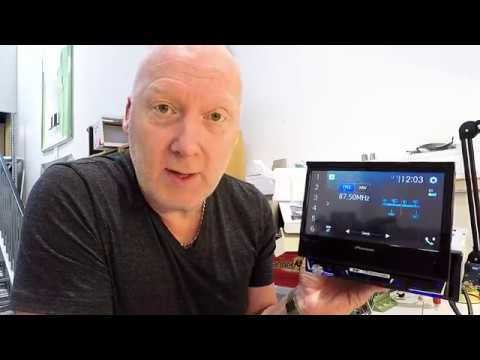 pioneer avh z7000dab unboxing and power up test apple. Black Bedroom Furniture Sets. Home Design Ideas