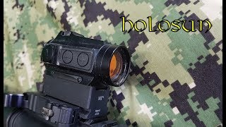 Gambar cover Holosun Red Dot test and review. 515CM