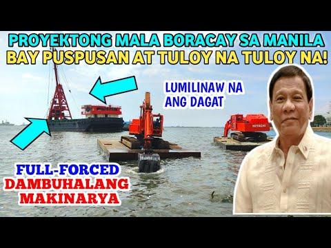 MANILA BAY UPDATE• Buhangin Na Itatambak Sa Manila Bay Naka Handa Na! Pero Pasado Kaya Sa DENR??