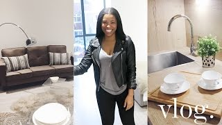 MY NEW STUDIO APARTMENT | VLOG