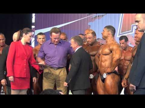 Arnold Schwarzenegger, inauguración Arnold Clic Amateur Madrid 2014