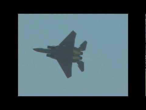 USAF F-15E DemoTeam  Thunder over the Empire March ARB Air Show 2006