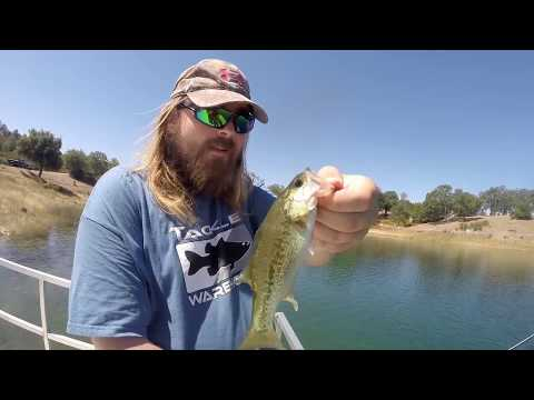 Eastbayanglers lake pardee bass fishing june 2015 youtube for Lake pardee fishing report