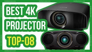 Best 4k projector review 2018 - Top 8 Best 4k home theater projector review
