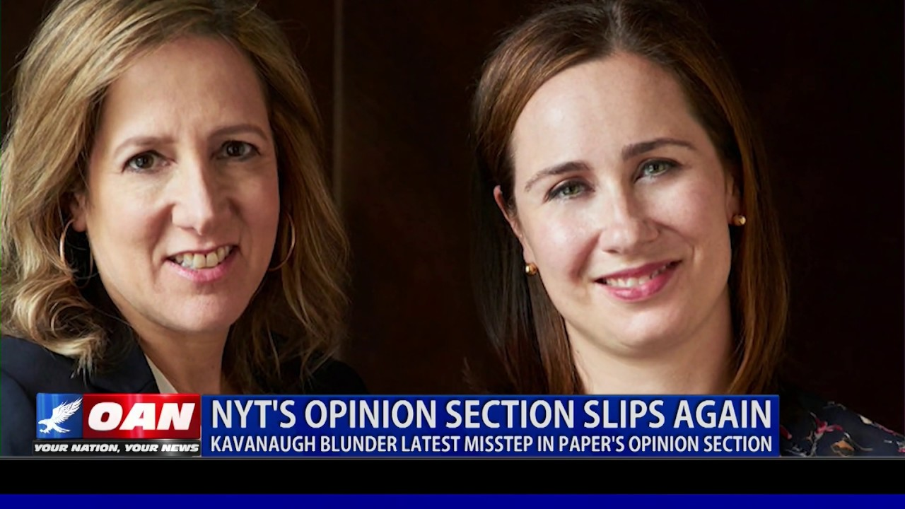OAN Kavanaugh blunder latest misstep in NYT's opinion section