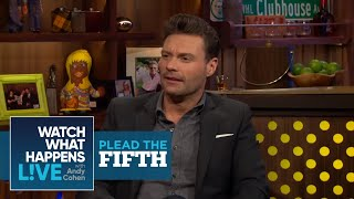Ryan Seacrest Talks Ellen DeGeneres On American Idol | Plead the Fifth | WWHL
