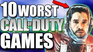 10 WORST Call Of Duty Games Of All Time (Ever) - BAD COD GAMES