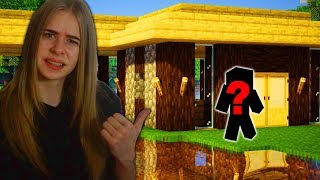 KTOŚ ZBUDOWAŁ DOM NA MOIM ŚWIECIE w Minecraft!