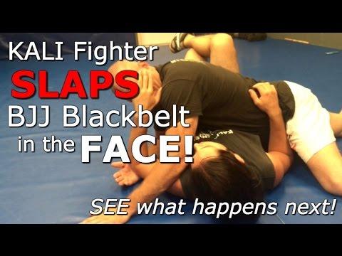 KALI Fighter SLAPS BJJ Blackbelt in the FACE! See What Happens Next...