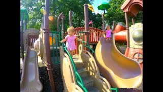 Playground Funny Time * Giant Slide * Let's Go to  the Playground Song * Videos For Kids