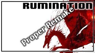 Rumination Analysis on Dragon Age Origins