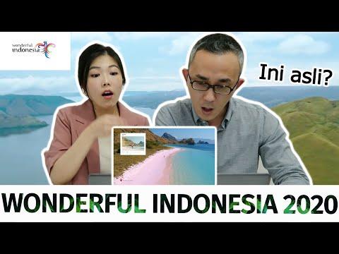 Buat Honeymoon Wonderful Indonesia 2020 I Video Reaction I 2020년 원더풀 인도네시아 영상 리액션 Youtube