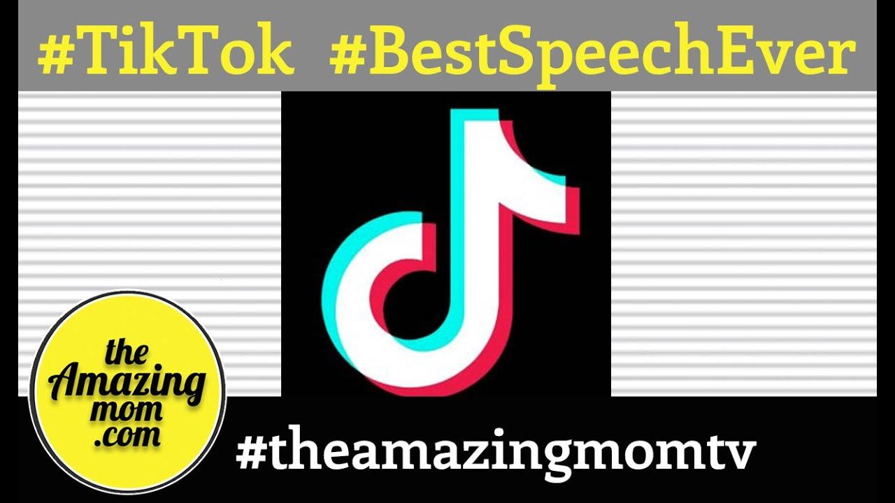 #TikTok #TheAmazingMomTV #BestSpeechEver